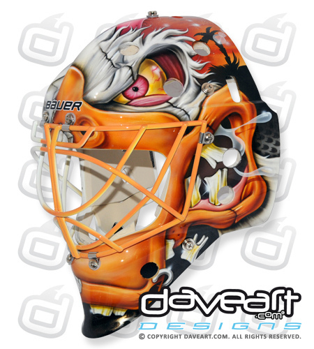 Viktor Fasth gets a new mask – what do you think? | The ...