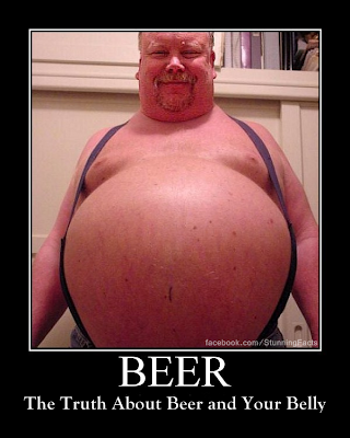 The Truth About Beer and Your Belly