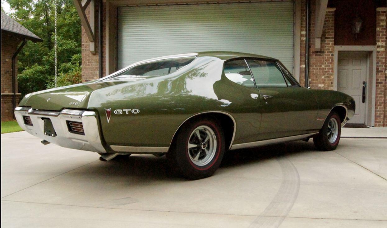 1968 PONTIAC GTO COUPE - 21323