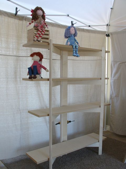 Woodworks by john craft fair display shelves for How to make display shelves for craft show