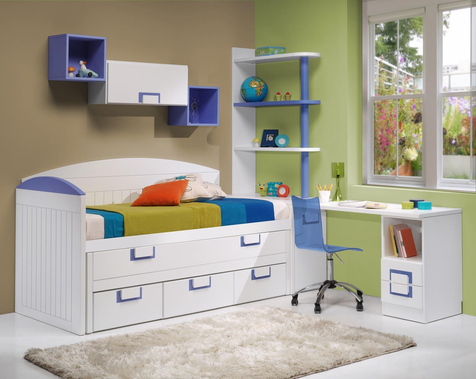 Dormitorios habitaciones juveniles e infantiles lacadas - Habitaciones blancas juveniles ...