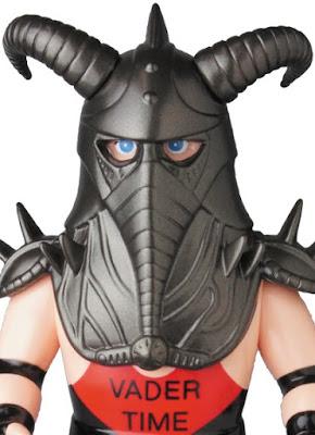 WWE Big Van Vader Sofubi Vinyl Figure by Medicom