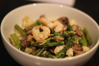 Blessed and Healthy: Shrimp Primavera Pasta with Asparagus ...