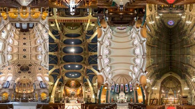 Panorámicas de 180 grados en vertical de Iglesias en Nueva York