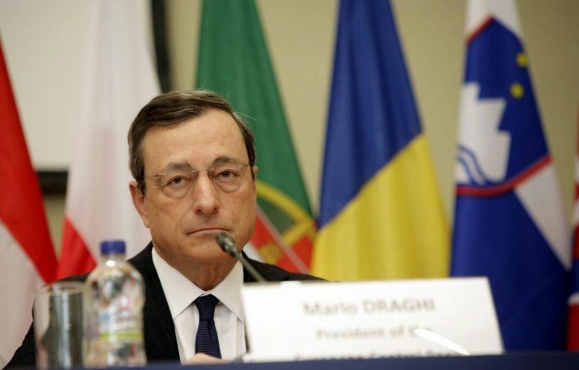"""Γιατί είναι ακόμα η ΕΚΤ στους Θεσμούς; """"Φλου"""" η απάντηση Ντράγκι στην ερώτηση Παπαδημούλη"""