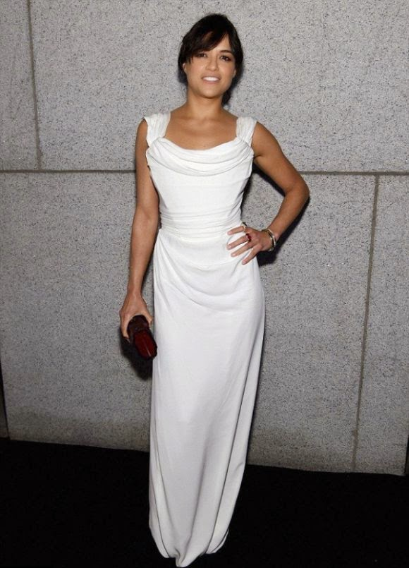 Oh well! Michelle Rodriguez's got plenty more time make it.  It is ready to set us all straight and the 36-year-old's using some universal truths to do it as she showing her comfortable art at amfAR Gala in New York, USA on Wednesday, February 11, 2015.