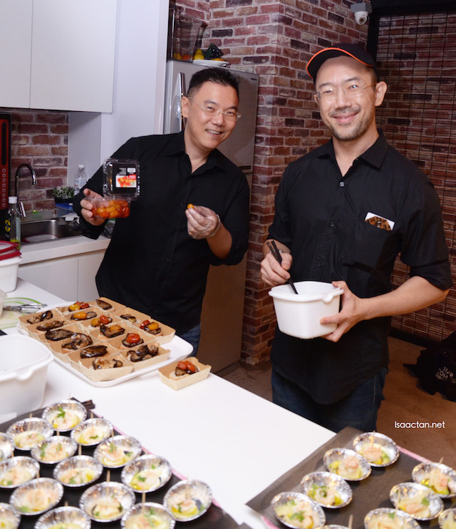 rivate Chef Sam Yap from private kitchen 'Your Place or Mine?'