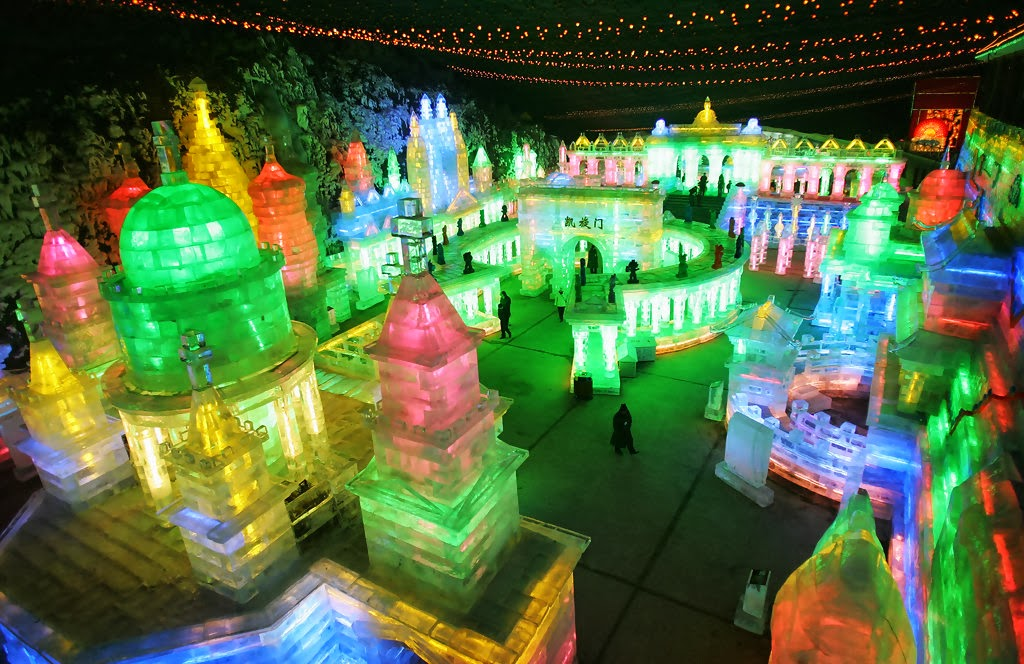 Yangqing Ice Festival, China - Top 10 Coolest Snow Buildings