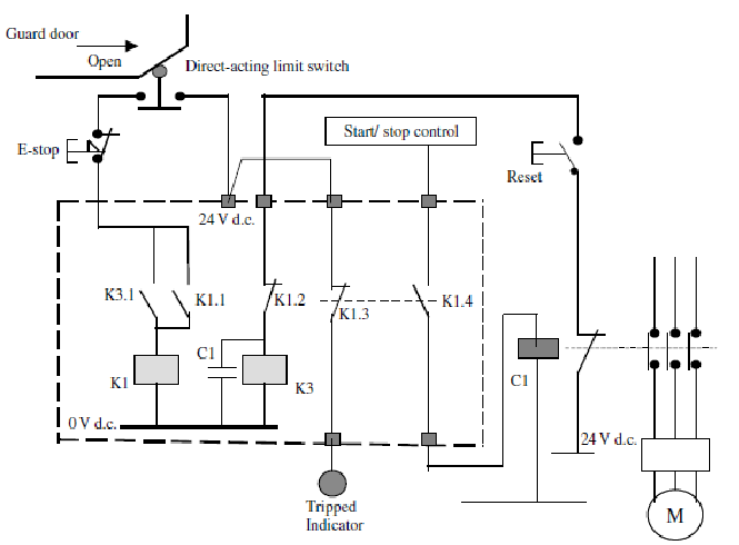 Safety Relay Wiring Diagram | Wiring Diagram on lucas relay wiring, allen bradley relay wiring, crydom relay wiring, siemens relay wiring, bosch relay wiring, idec relay wiring, finder relay wiring,