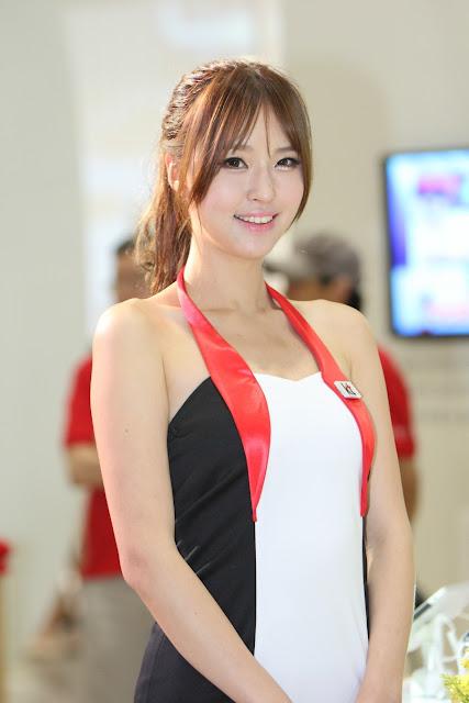 5 Choi Byeol Ha - World IT Show 2013  - very cute asian girl - girlcute4u.blogspot.com