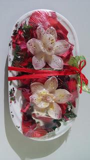 Arreglo floral de María Isabel Conhi.
