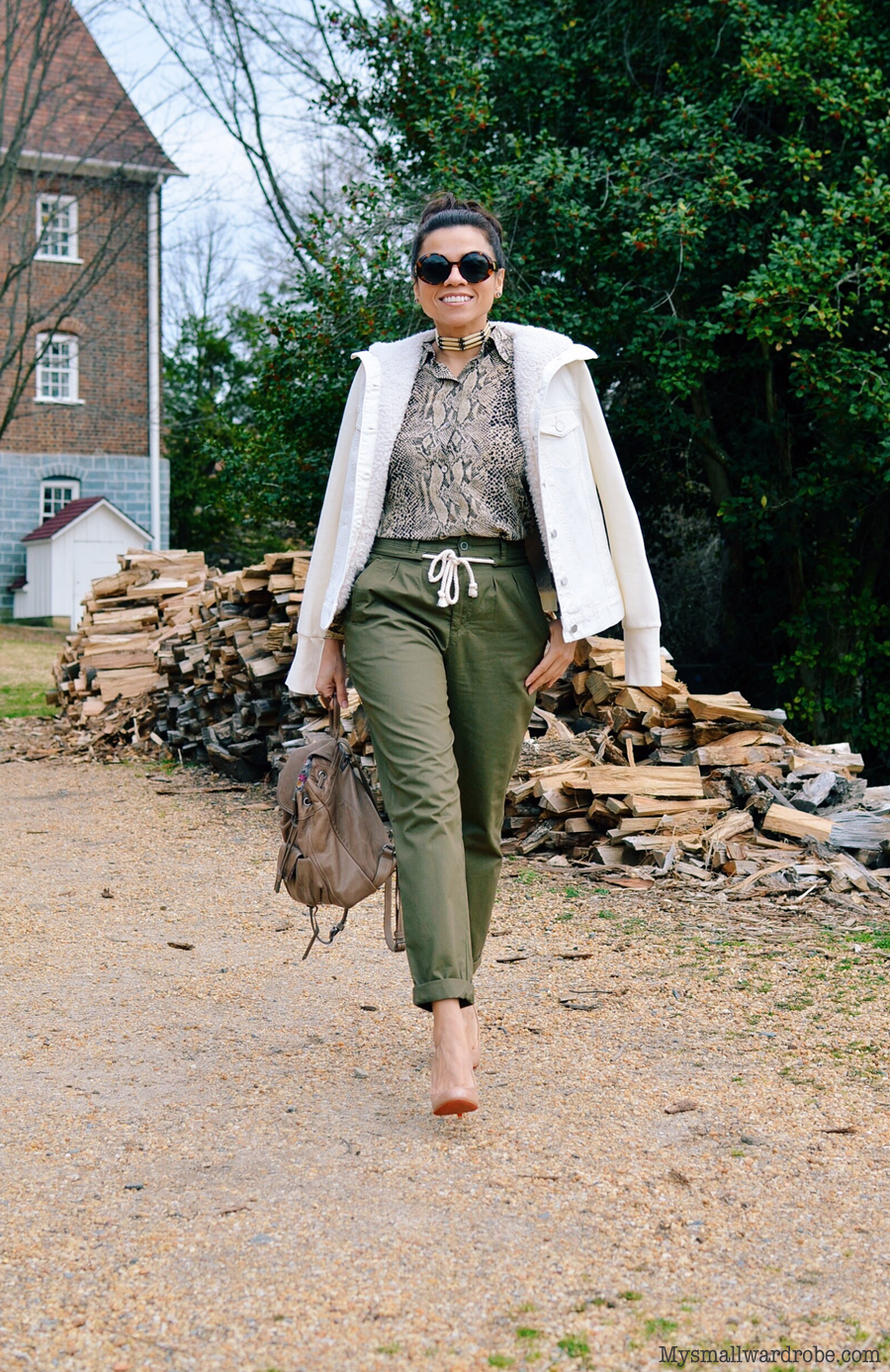 Utilitarian style outfit