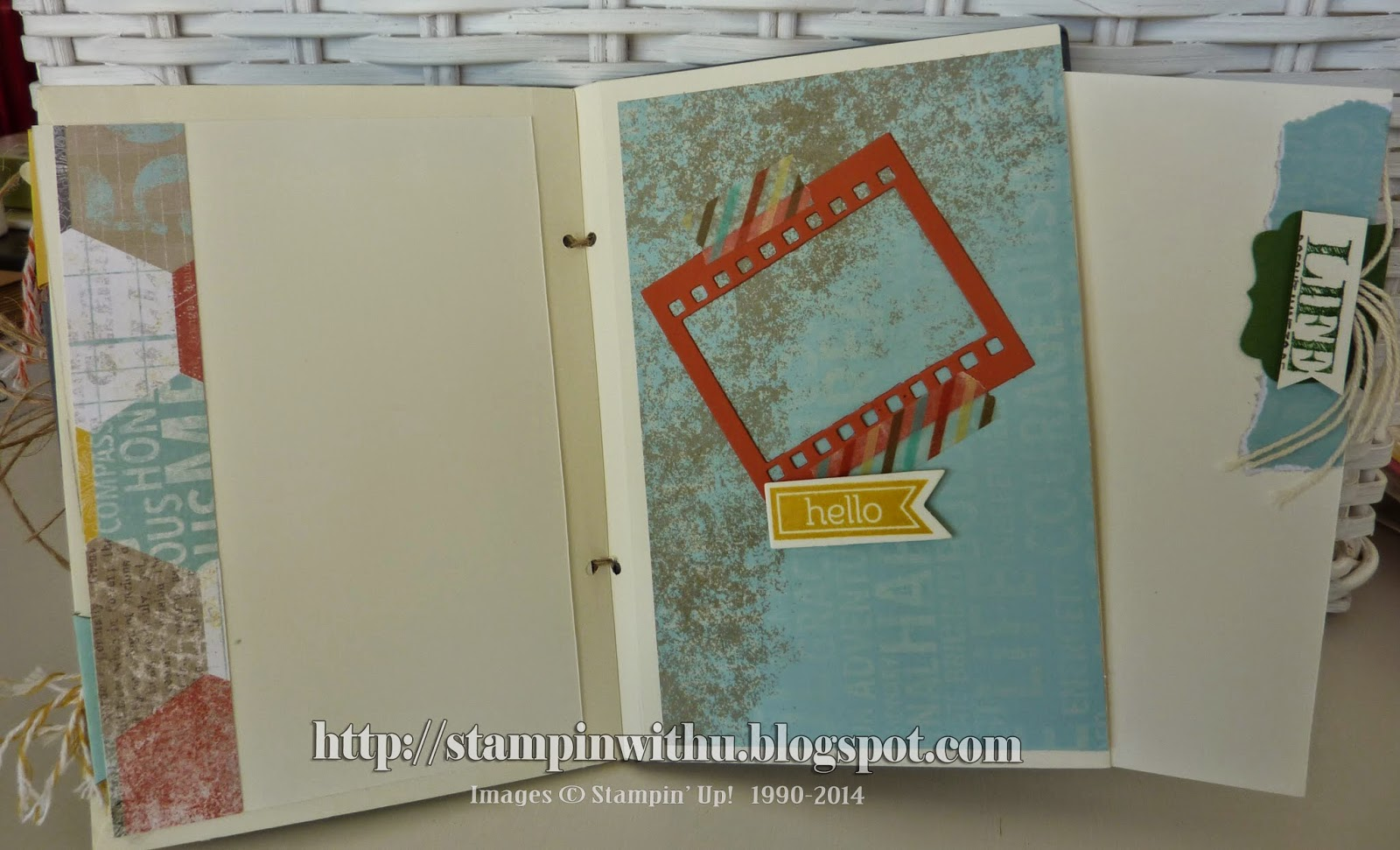 Mini Album - On Film Die Cuts - 3rd Page