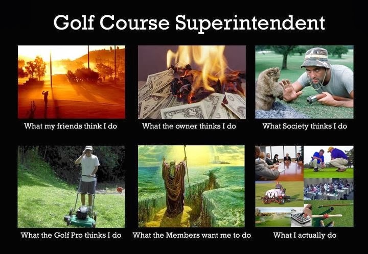 Life of A Golf Course Superintendent