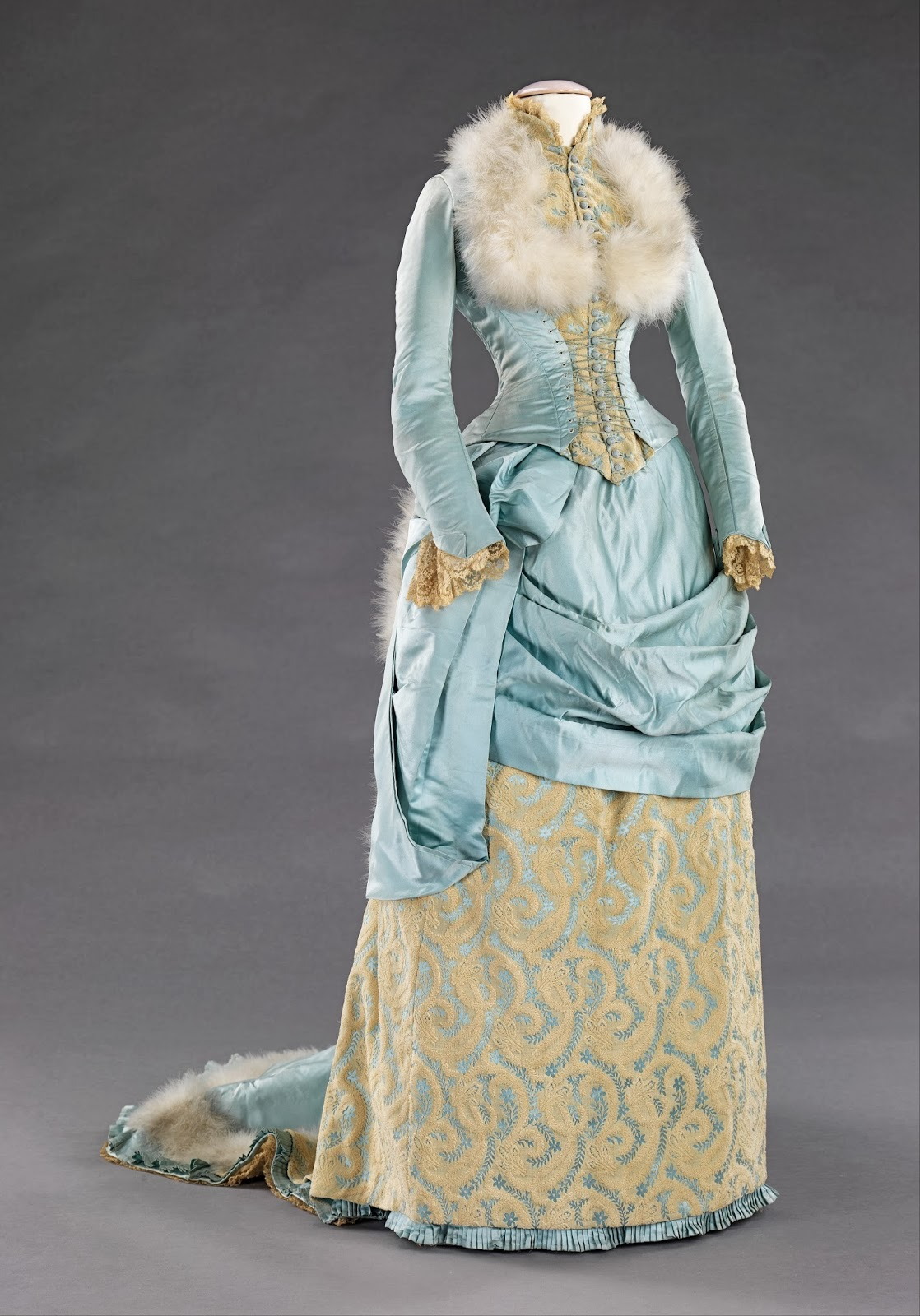 SilkDamask : Icy Blue Silk & Feathers: Two Wintery Victorian ...
