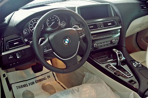 Xe cưới:BMW 650i Mui Trần