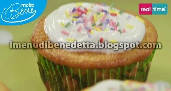 Muffin allo Yogurt e Cioccolato di Benedetta Parodi