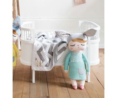 Muñeca Personalizada Little Bunny Menta