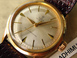 TUDOR OYSTER CREAM DIAL GOLD PLATED - MANUAL WINDING