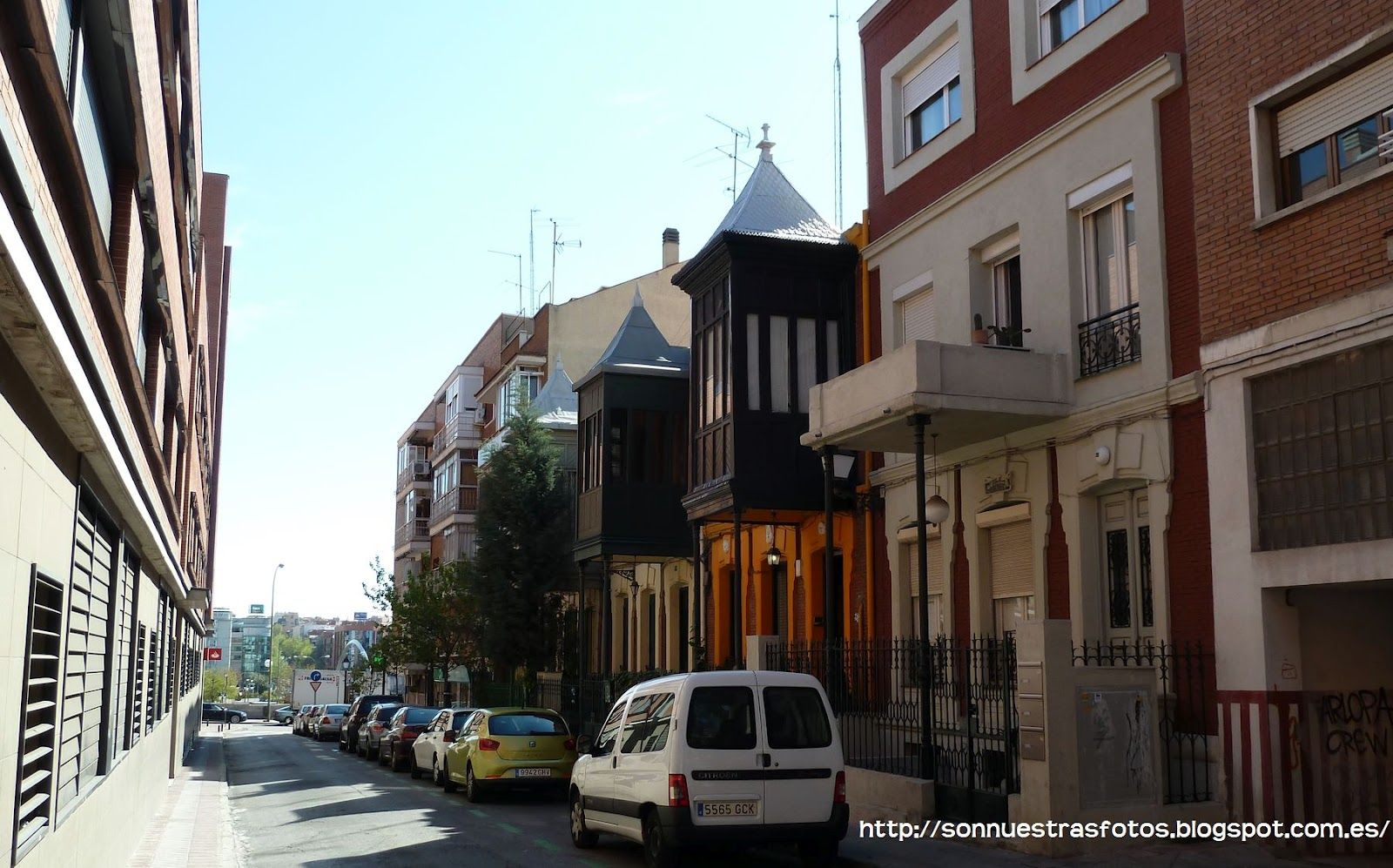 Nuestras fotos el madrid moderno for Madrid moderno