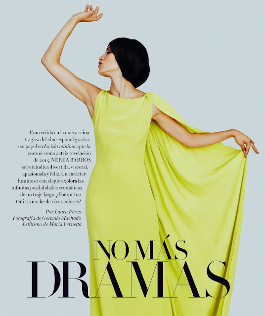 Actress, @ Nerea Barros - Harpers Bazaar Spain, December 2015