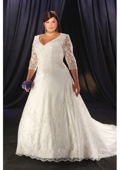 Size Trendy Clothing on Lace Designer Plus Size Wedding Dresses