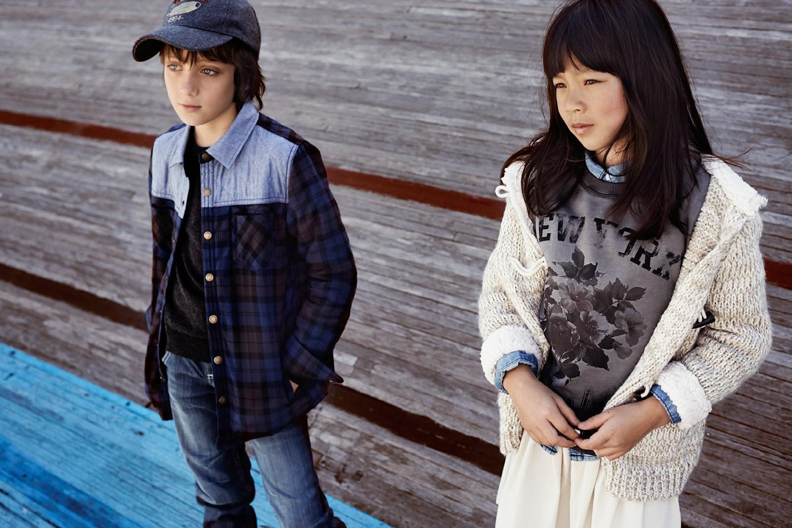 Mango Kids 'The Cycle Track' Lookbook Fall/Winter 2014