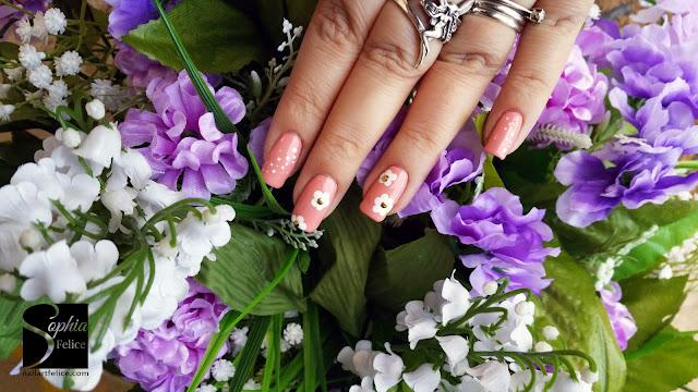 nail art fiore di primavera 02
