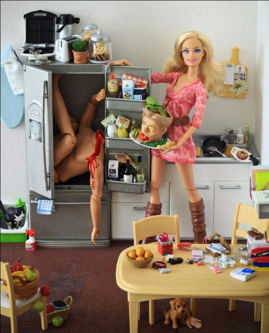 Mariel Clayton. Bad Barbie
