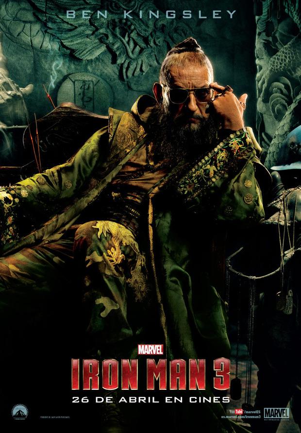 El Mandarín / Ben Kingsley en Iron Man 3