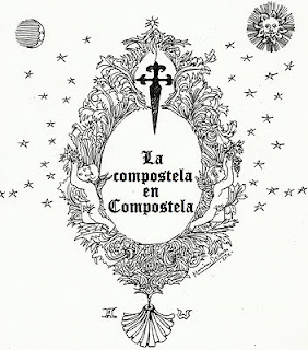 Exposición de compostelas en Compostela