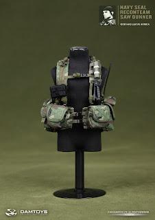 Damtoys 1/6 scale Navy SEAL Recon Team SAW Gunner  - Tears of the Sun