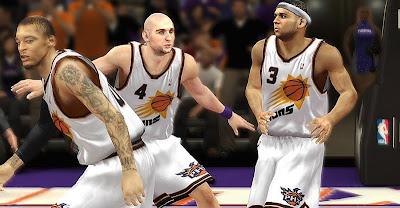NBA 2K13 Phoenix Suns 2013-2014 Jersey Mod