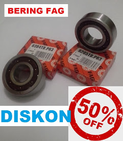 Bearing FAG Hi Speed type 6304 dan 6205 (Stock 1000 pcs)