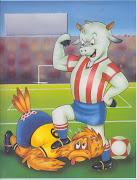 . chivas always wins too.the estadio azteca was packed with 'afficionados' .