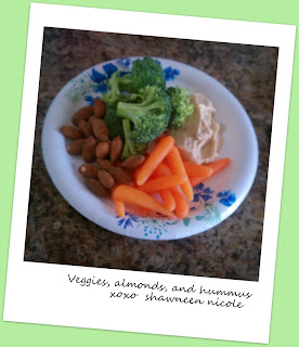 healthy inexpensive vegetable nut snack
