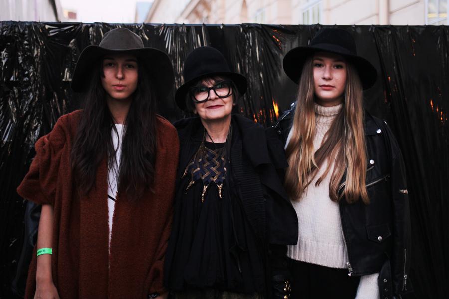 hüte street style fashion week