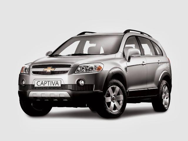Chevrolet Captiva Car Wallpaper