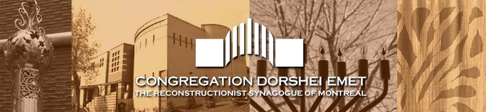 Announcements - Congregation Dorshei Emet