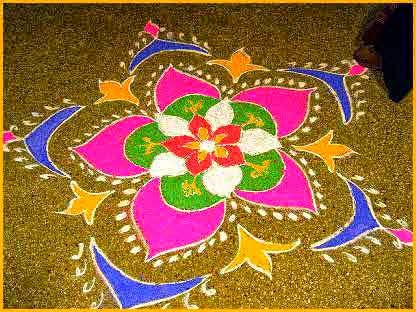 New Rangoli Designs For Diwali