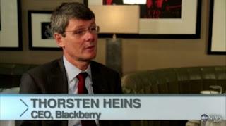 (CEO) BlackBerry Thorsten Heins
