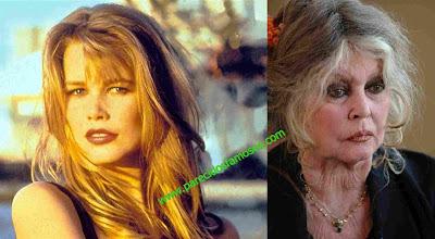 Brigitte Bardot antes y después