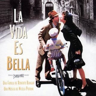 Life Is Beautiful Sheet Music Partitura Instrumental  La Partitura de La Vida es Bella cantada por Noa y Miguel Bosé. BSO de la Vida es Bella Partituras para Trompeta, Saxofón, Flauta Dulce, Violín y otros instrumentos en las tres claves