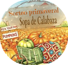 SORTEO EN SOPA DE CALABAZA