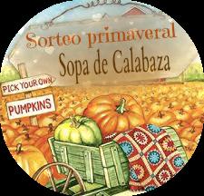 ¡¡SORTEO EN SOPA DE CALABAZA!!