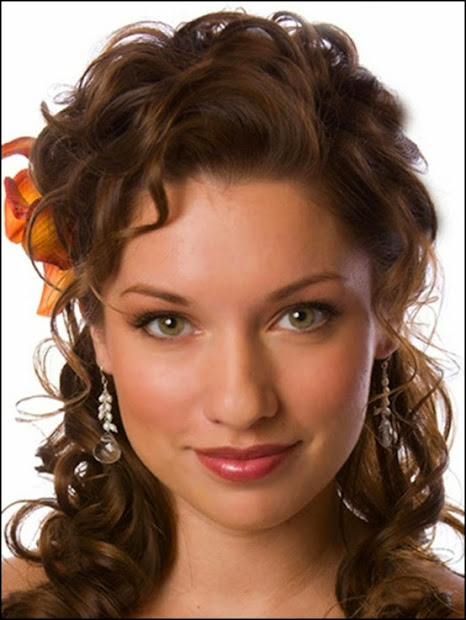 top 9 easy stylish updos curly