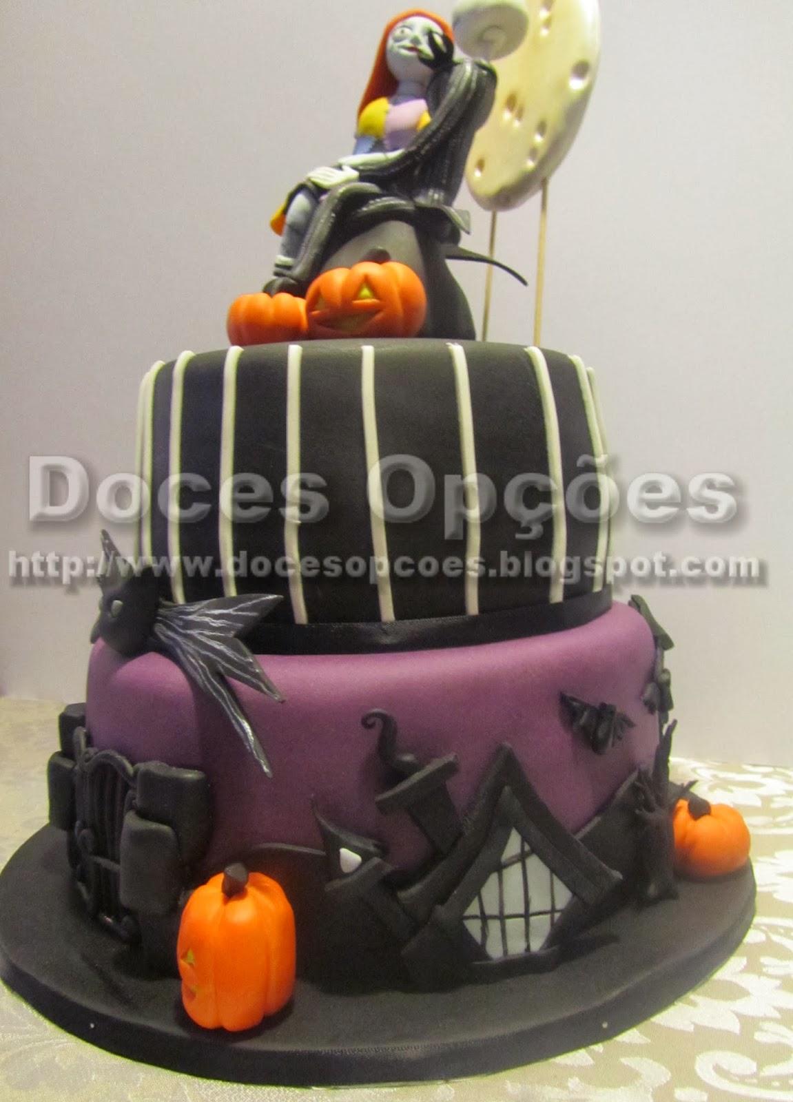 bolo noite das bruxas bragança doces opções
