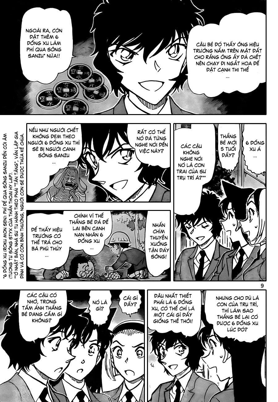 Thám Tử Lừng Danh Conan - Chapter 814 - Pic 10