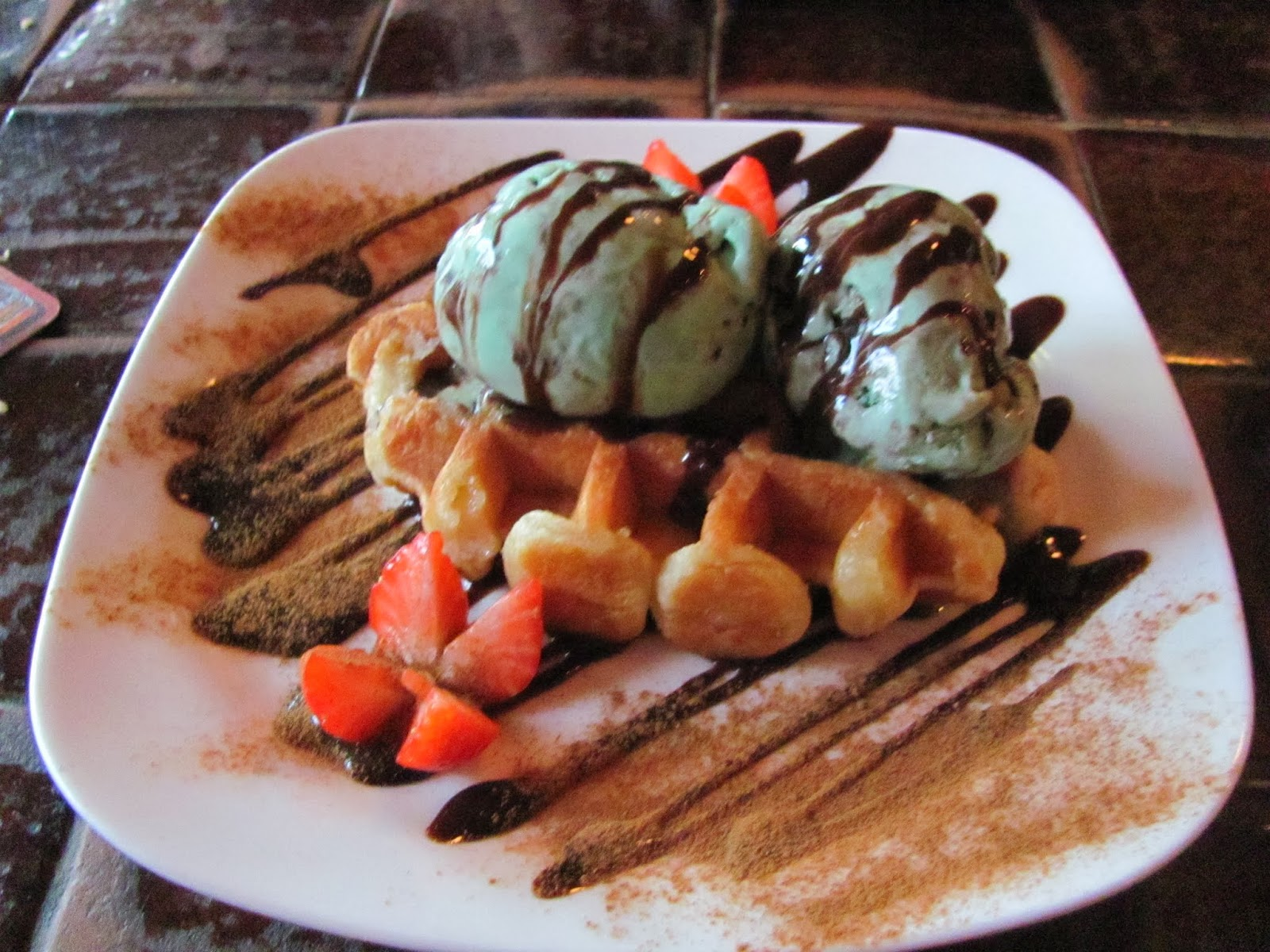 Ice Cream and Waffles from The Porterhouse Temple Bar