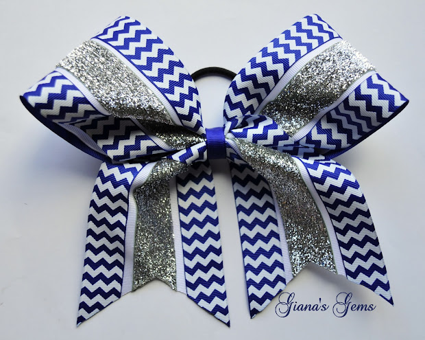 giana's gems cheer bows